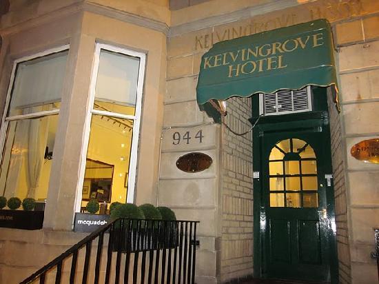 Kelvingrove Hotel: Entrance