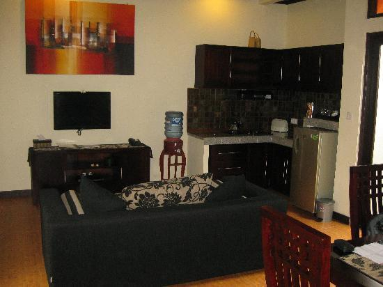 Rumah Santai Villas: Living Area - Kitchen