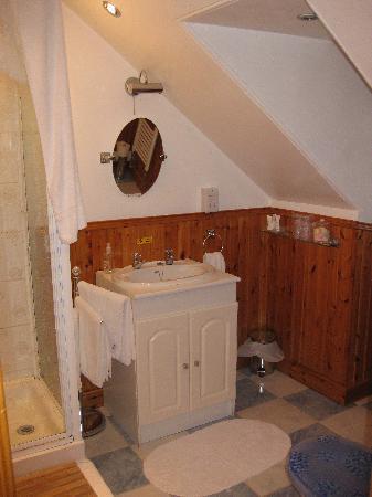 A' Turas-Mara Guest House: Our ensuite bath...