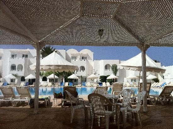 Hotel Djerba Les Dunes: vue sur le restaurant