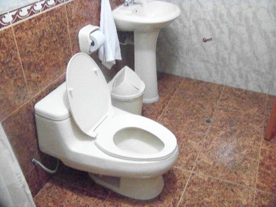 Posada Inti Wasi: Baño de la habitación.