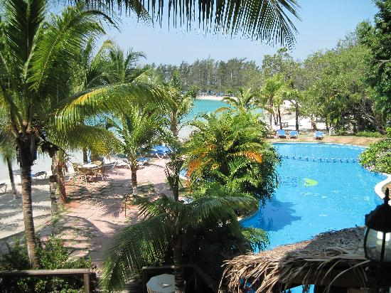 Fantasy Island Beach Resort: A heated pool flanked the resort's one-half mile of Caribbean beachfront