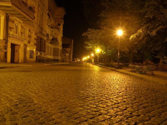Leszno, Poland: schöne Straßen