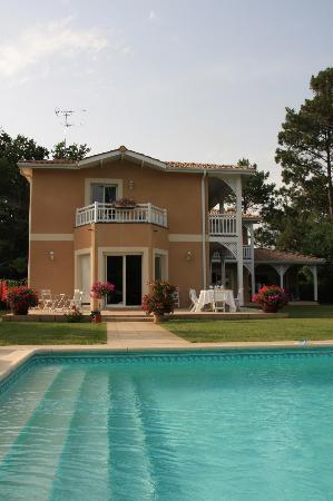 Le clos d'Ignac : View from the pool