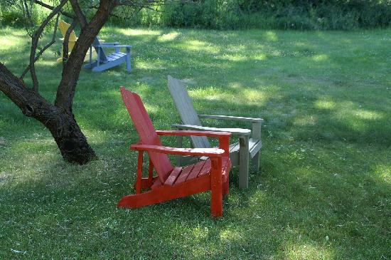 Chewuch Inn & Cabins: Im Garten....