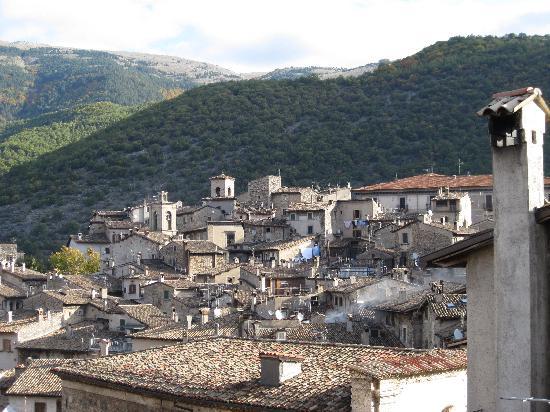 La Dimora di d'Annunzio: View from the window