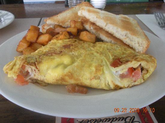Benner, St. Thomas: Breakfast at Blue Moon Cafe