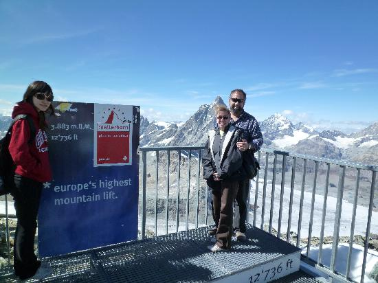 Matterhorn: At the top!