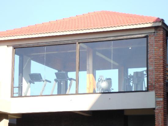 Club Mahindra Kanatal: The gym