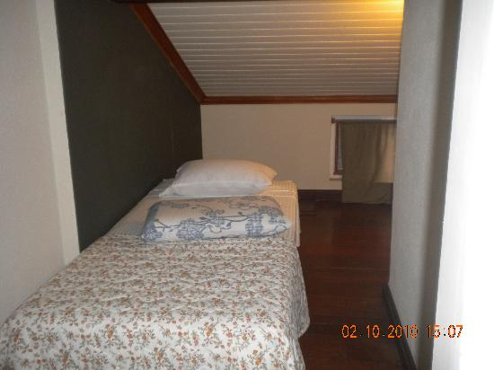 Pousada Palmeira Imperial: terceira cama do quarto