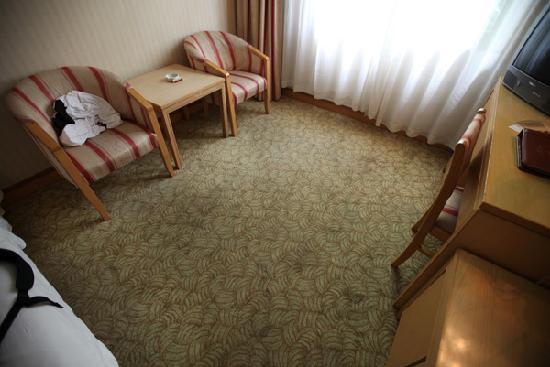 Yan'an Hotel : Dirty carpets