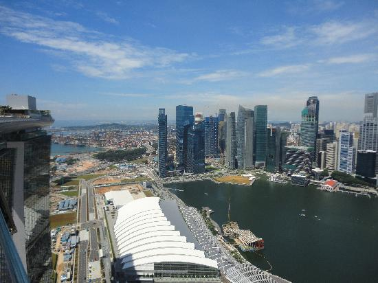 Aussicht Picture Of Marina Bay Sands Casino Singapore