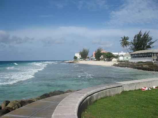 Magic Isle Beach Apartments: Walking the Boardwalk