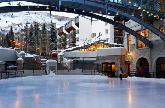 Vail, Colorado: Vail Square Ice Skating Rink