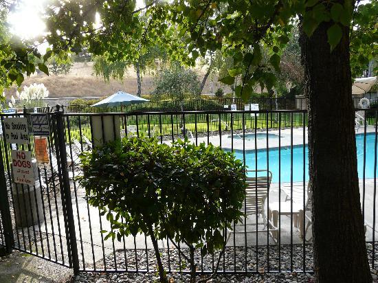Best Western Plus Sonora Oaks Hotel & Conference Center: terrace &pool