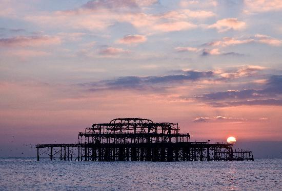 Брайтон, UK: Brighton West Pier