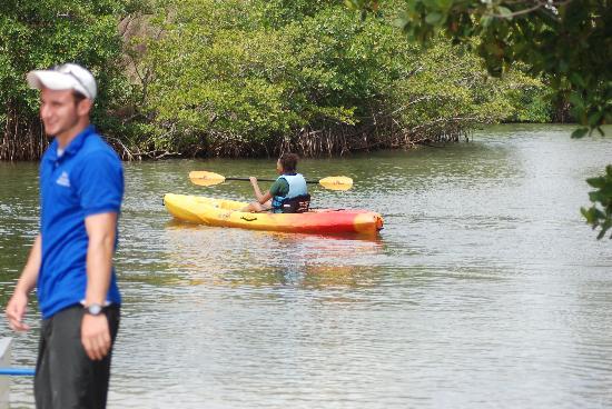 North Miami Beach, Floride : Kayaking