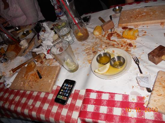 The Crab Pot Seafood Restaurant: the aftermath