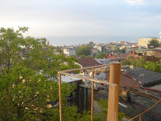 Poem Hotel Istanbul: View from room (west)