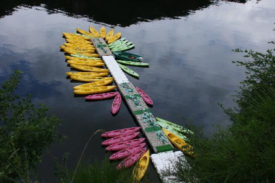 Neuvic, France: canoe/kayak