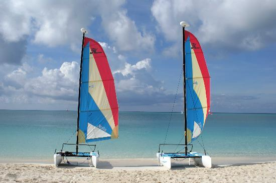 Grace Bay Club: sail boats