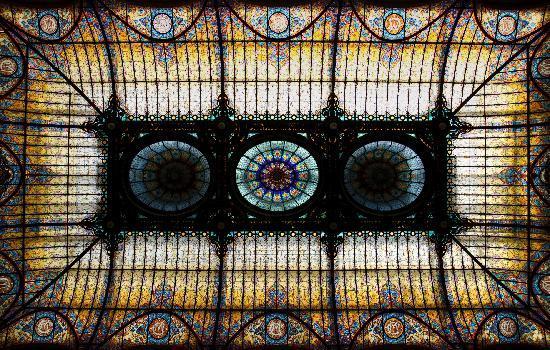Gran Hotel Ciudad de Mexico: Fantastic roof