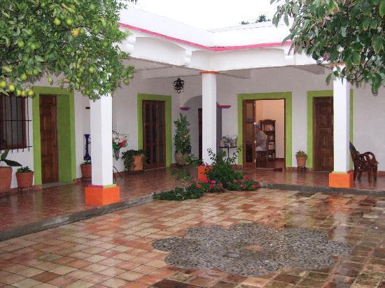 Casa Los Arquitos B&B: The View Entering Casa Los Arquitos