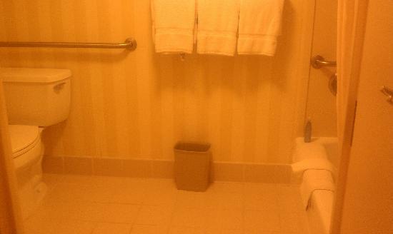Courtyard Tysons Corner Fairfax: Bathroom Amenities - or NOT