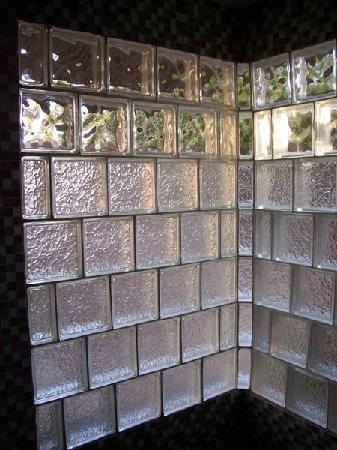 ZenYard Guest House: Jerome room, shower closeup