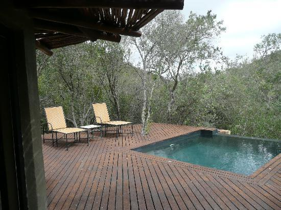 Shamwari Game Reserve Lodges: View from our room