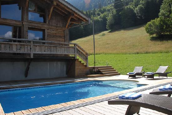 Star Ski Chalets: Heated swimming pool