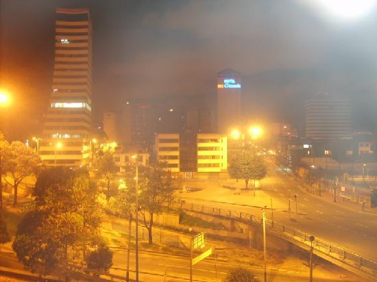 Hotel Tequendama: La vista dall'Hotel di notte