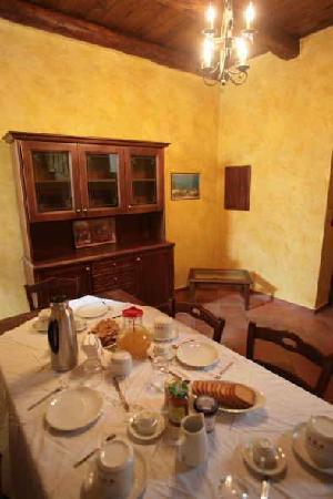 B&B Luxury: sala colazione
