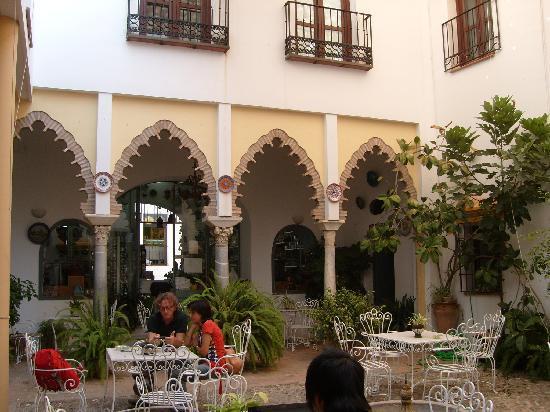 Hotel Gonzalez: patio