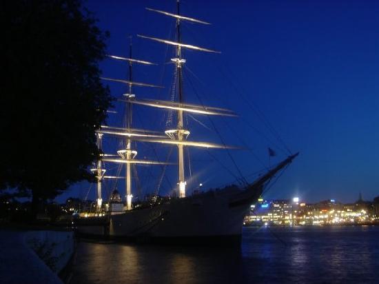 STF af Chapman & Skeppsholmen Hostel : Bateau de nuit