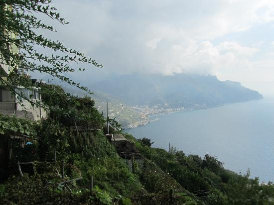 Ravello, Italy: View from the terrace