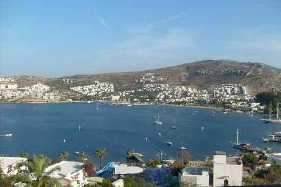 Hotel Baia Bodrum: the harbour