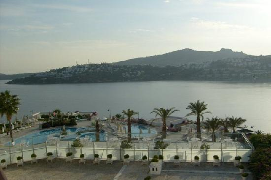 Baia Bodrum Hotel: view