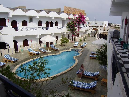 Dahab Plaza Hotel: The Plaza hotel from our balcony