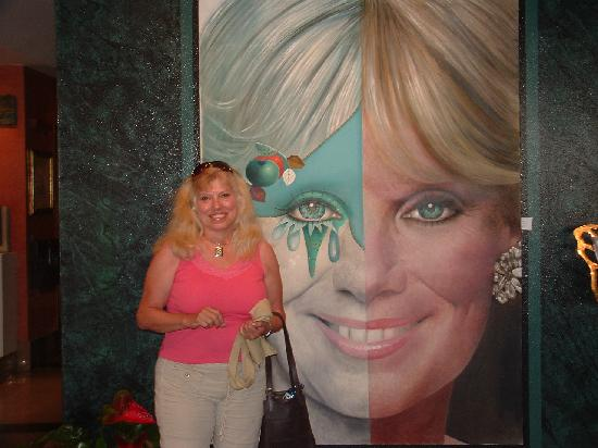 Hotel Estela Barcelona - Hotel del Arte: Me and Linda