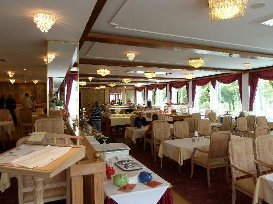 Johannesbad Hotel Palace: Speisesaal