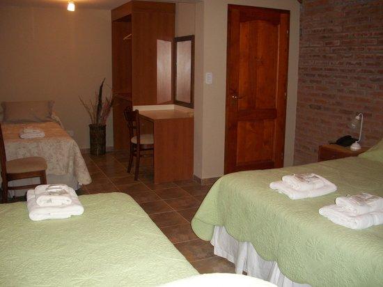 Hosteria Alto Verde: HABITACIONES CUADRUPLES