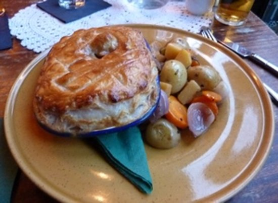 The Butterfly And The Pig : Steakie Steak Pie