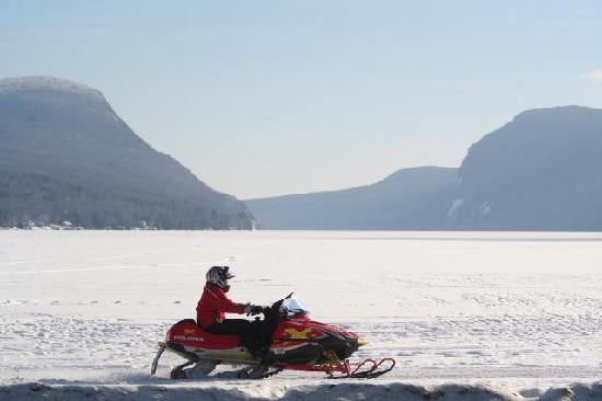 Northeast Kingdom, VT: Snowmobiling