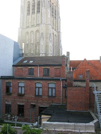 Novotel Ieper Centrum : View from our bedroom window