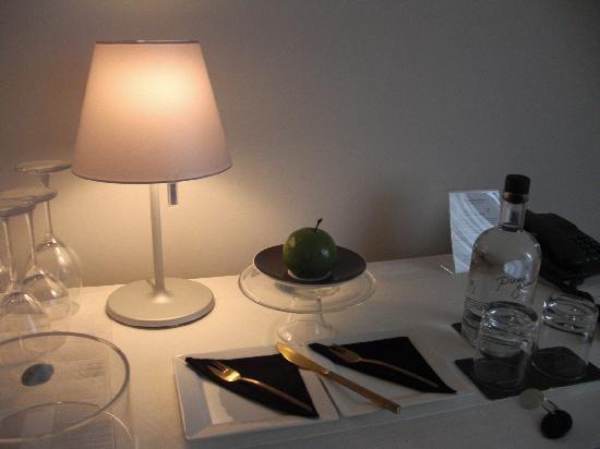 Librije's Hotel: Patisserie d'accueil