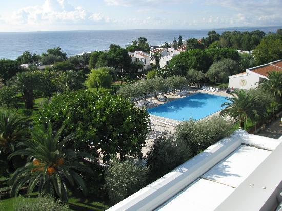 Hotel Naxos Beach Parco : UNA VISTA DAL TETTO SUL PARCO
