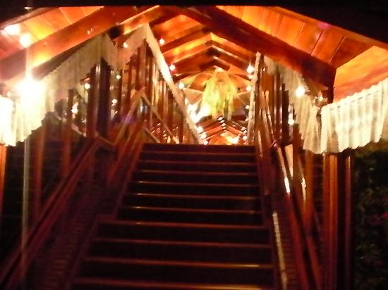 Portal del Lago Hotel: A lot of stairs everywhere...