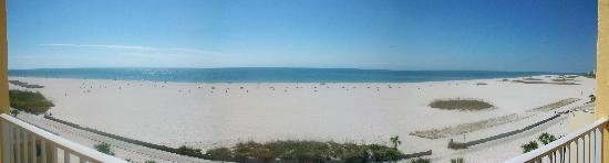 Bilmar Beach Resort: View from the Balcony
