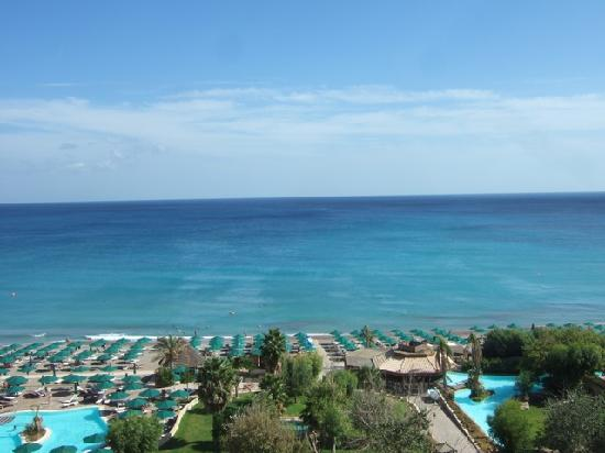 Esperos Palace Resort: Blick aus dem Zimmer